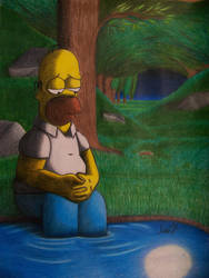 Alone with myself by Wilbur-distiny
