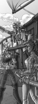 Tya shipmates by MelUran