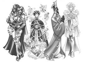 Gods 3 by MelUran