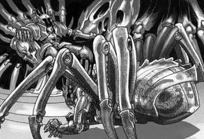 Rage against the Machine by MelUran