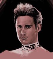 Bruce portrait by MelUran