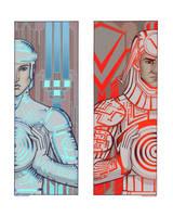 Deco Tron by MelUran