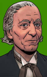 Doctor Who: William Hartnell by tygerbug
