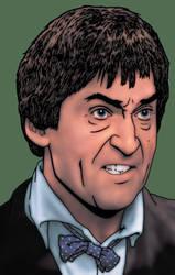 Doctor Who: Patrick Troughton by tygerbug