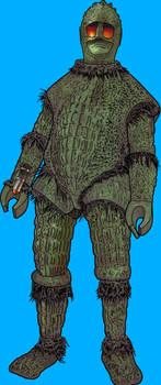 Doctor Who: Ice Warrior by tygerbug