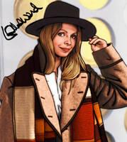 Lalla Ward- Romana- Doctor Who by tygerbug