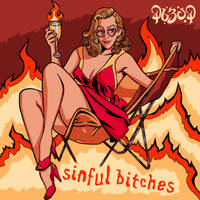 Sinful Bitches Album Cover by tygerbug
