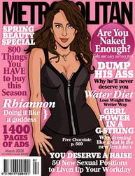Metropolitan Cover: Rhiannon by tygerbug