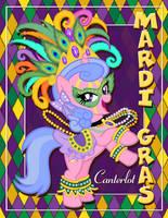 Violet - Mardi Gras Canterlot by tygerbug