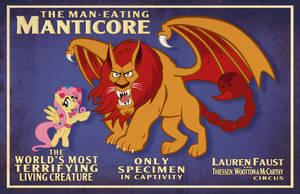 Manticore Poster 13x19 by tygerbug