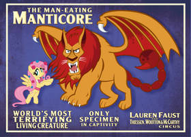 Manticore Poster 5x7 [clean] by tygerbug