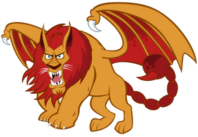 Manticore by tygerbug