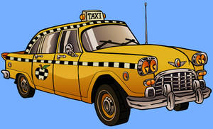 Taxicab by tygerbug