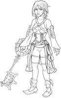 Aqua (Kingdom Hearts) by tygerbug