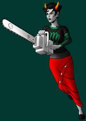 Kanaya Maryam - Hungry For Life (Color) by tygerbug