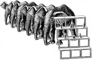 The Dermis Probe [The Elephant Viewers] by tygerbug