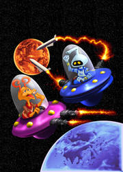 Space Cadet by tygerbug