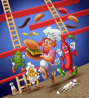 Burgertime by tygerbug