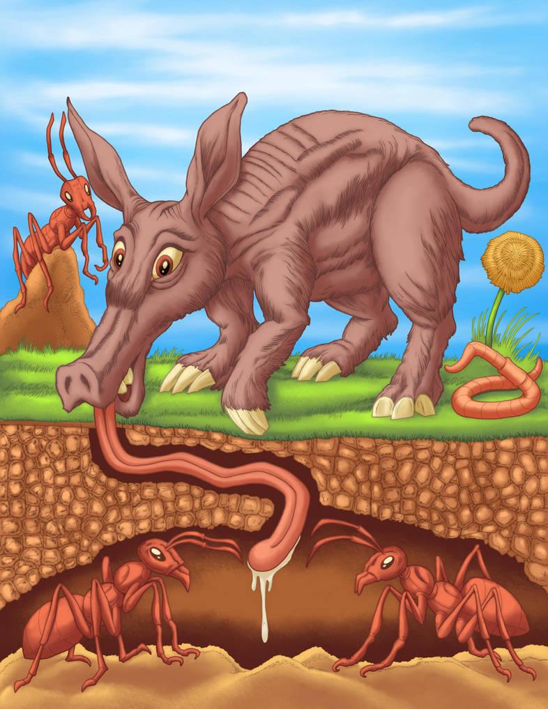 Aardvark by tygerbug