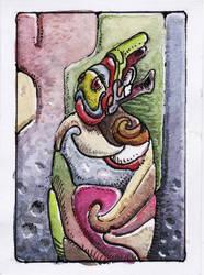 alien marketeer by LaughtonMcCry