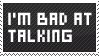 Talking stamp by DaRk-Stamps