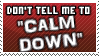 Calm down stamp by DaRk-Stamps