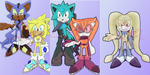 Sonic Boys adoptable Batch Open (5/5) by CassidyJCrim