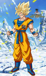 Goku SSj 2018 ! Fondo ! by DiosSupremo