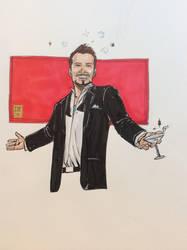 Tony Stark by Moustafa Ibrahim by Gretchdragon