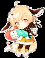 buns and bows by kaeryi