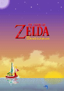 The legend of Zelda:  The wind waker by Kaweii