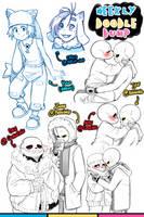 [Patreon] Doodle dump #21 by Kaweii
