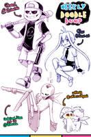 [Patreon] Doodle dump #22 by Kaweii