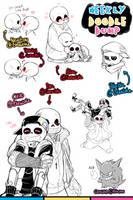 [Patreon] Doodle dump #26 by Kaweii