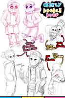 [Patreon] Doodle dump #27 by Kaweii