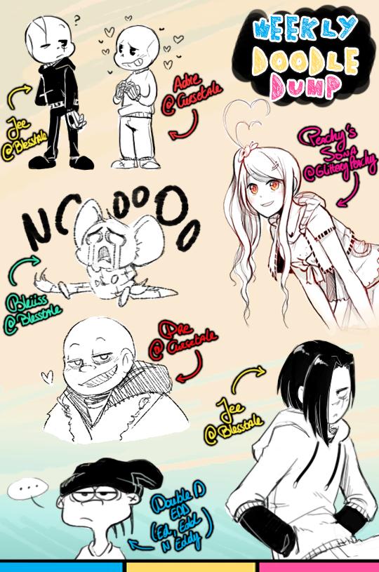 [patreon] doodle dump #45 by Kaweii