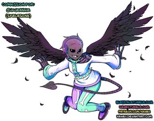 [Commission] JkJeannie by Kaweii