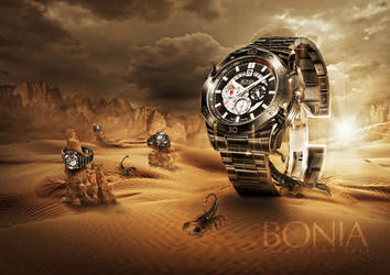 Bonia Watch Commission by FlewDesigns