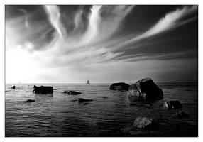 Sea...sky by butterflyscream