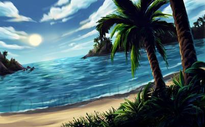Island Commission by TamberElla
