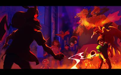 Pokemon Battle Squad by TamberElla