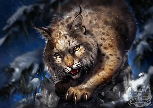Caramancer Bobcat by TamberElla