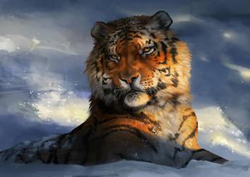 Catamancer Siberian Tiger by TamberElla