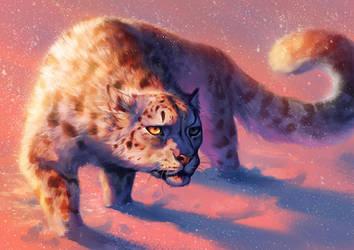 Catamancer Snow Leopard by TamberElla