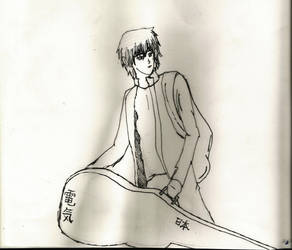 Street Musician by Kotoni-Sukina