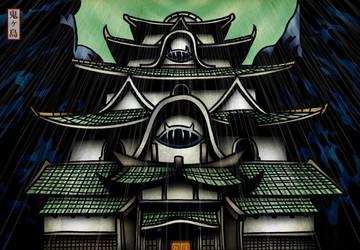 Oni Castle by smev