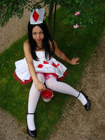 Under the rose bush by Minakosplay
