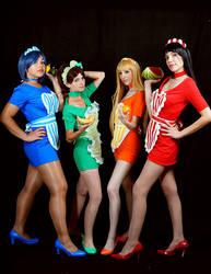 Taste the rainbow~ by Minakosplay