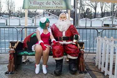 The strange Santa by Minakosplay
