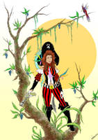Emily as a Pirate by vansters